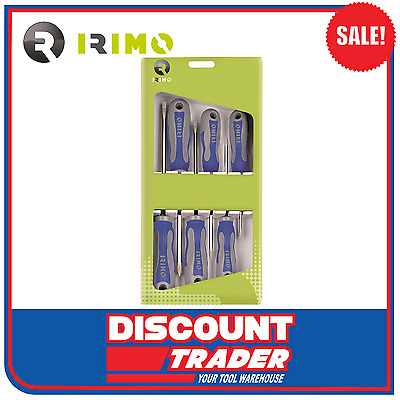 Irimo by Bahco Screwdriver Set 6 Piece - Made in Spain - 459-6-C