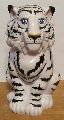 """Tiger Cup with Lid - Ringling Bros The Greatest Show on Earth   8"""" TALL"""