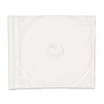 200 STANDARD Clear CD Jewel Case (Tray Only, NO Cartons)
