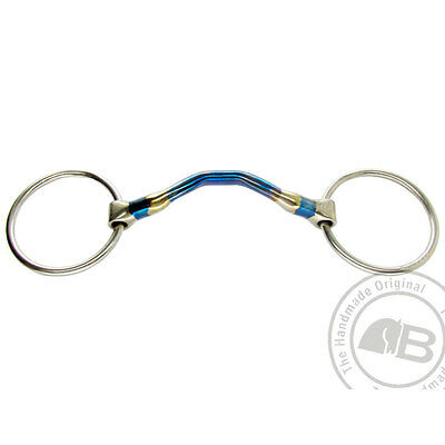 Bomber Bits Happy Tongue Loose Ring Snaffle B14 125-150mm *10% OFF WERE £68.00*