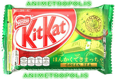 Nestle KitKat Kit Kat Japan Green Tea Matcha Mocha Chocolate Confectioner Fresh