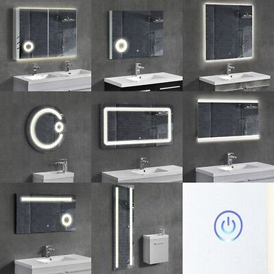 [neu.haus] LED Bathroom light Wall Mirror Cosmetic mirror Wardrobe