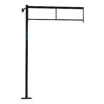 New Professional Rack 2 X Pull Up Station Wall Mount Bar Gym New