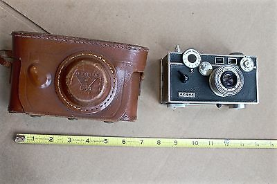"Vintage Argus ""Brick"" 35mm Film Camera With Leather Case. See My Other Cameras."