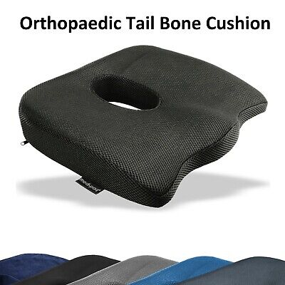 Orthopaedic Coccyx support Wedge Cushion Lumbar Spine Tail Bone Back Pain Relief