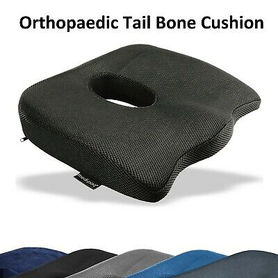 Orthopedic Coccyx support Wedge Cushion Lumbar Spine Tail Bone Back Pain Relief