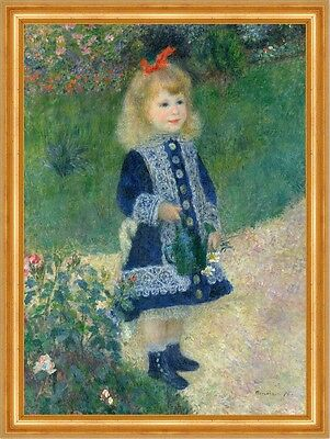 A Girl with a Watering Can Pierre-Auguste Renoir Gießkanne Mädchen B A3 03100
