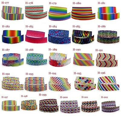2-10yads 7/8''(22mm) Mosaics design Grosgrain Ribbon DIY Sewing Hair Bows Crafts