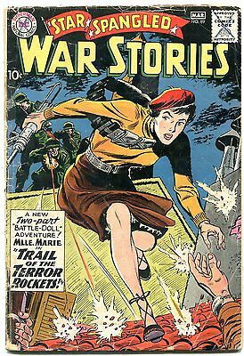 Star Spangled War Stories #89 1960- Mlle Marie cover- 1st Justice League? G/VG