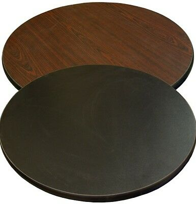 New 30 Round Table Top Mahogany Laminate Restaurant Furniture Tables