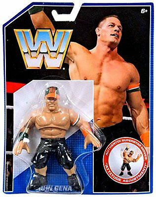 Wwe John Cena New Retro Action Mattel 1 One Wrestling Figure Hasbro Style Wwf