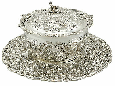 Antique George III Sterling Silver Covered Serving Dish