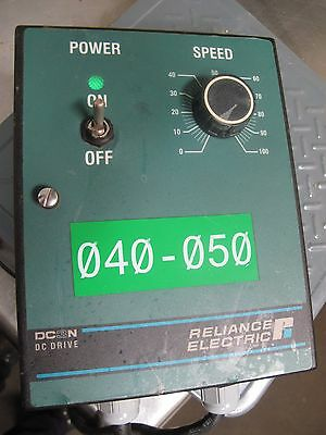 Reliance Electric Dc3N Dc Drive With Enclosure 13A 1Ph 50/60Hz 230Vac