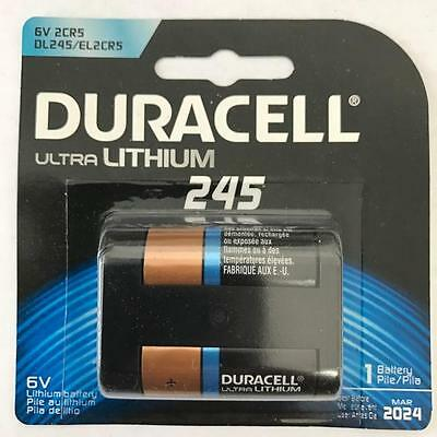 1 x Duracell Ultra Lithium 245 6V battery (2CR5, DL245, EL2CR5, DL245ABU)