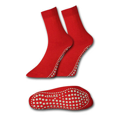 3 Paar Falke Kinder ABS Anti-Rutsch-Socken 39-42 rot