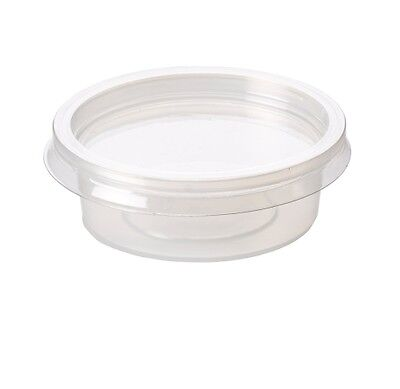 2oz Food Storage Disposable Plastic Portion Pot Containers And Lids Great Value