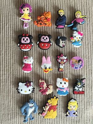 19 Shoe Charms Fits Crocs Pooh Hello Kitty Clog Charms 19 Shoe Charms For Girls