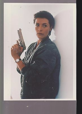 8 X10 Color Photo Of-Lady With Gun