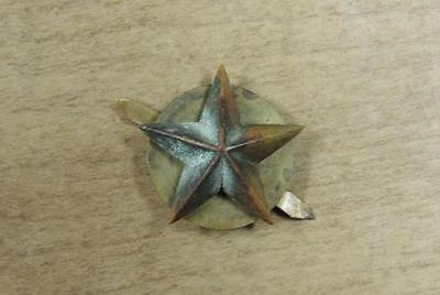 Brass Brigadier General's Star For Wear With The M1 Helmet