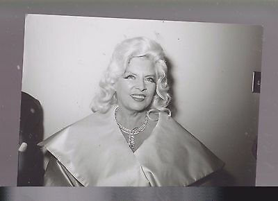 8 X 10- B & W Photo Of-Mae West - Older- Clamour-