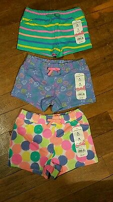 New Infant Baby Girls 6 months Shorts Jumping Beans lot of 3