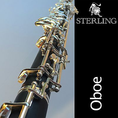STERLING Oboe with Case and Bag • Superb Quality Composite Oboe • Brand New •