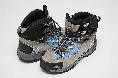 Boys Mc Kinley Aqua Max Walking Boots Hiking Real Suede Grey Size Uk 1 Eur33 Exc