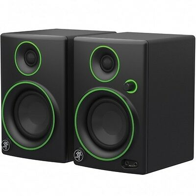 Mackie Cr 3 Pair Studio Monitor Amplified New Official Warranty