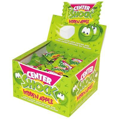 Center Shock Hidden Apple 100 Stück - Extra saurer Kaugummi (1er Pack)