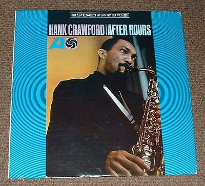 HANK CRAWFORD after hours 1967 US ATLANTIC STEREO RE LP