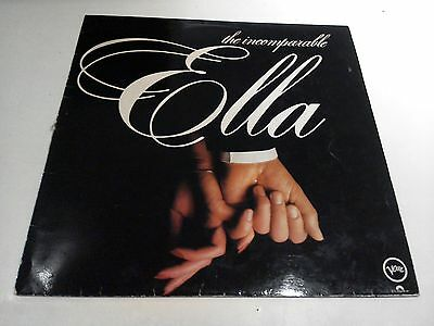 The Incomparable Ella Fitzgerald Excellent Vinyl LP Record POL TV9