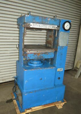 "PHI Pasadena Hydraulics Model  70-254-AM4 Heated Platen Press Table 18"" x 18"""