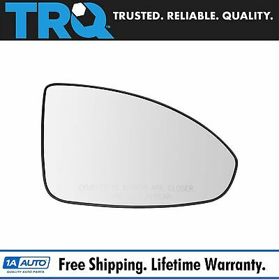2011 2015 Chevy Volt Passenger Side Mirror Glass With Writing New Gm
