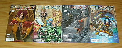 Legacy #1-4 VF/NM complete series - image comics 2 3 set lot