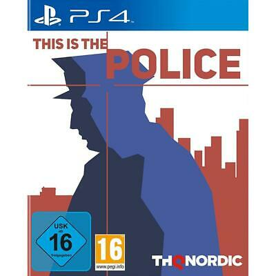 This is the Police Sony Playstation 4 Strategie Adventure PS4 Spiel, NEU&OVP