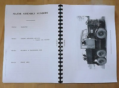 Scammell Explorer.Tractor breakdown.Spare parts list.6PC 630. WO Code no.17562.
