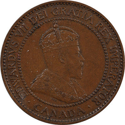 1910 Canada Large Cent Km #8  - Uncirculated