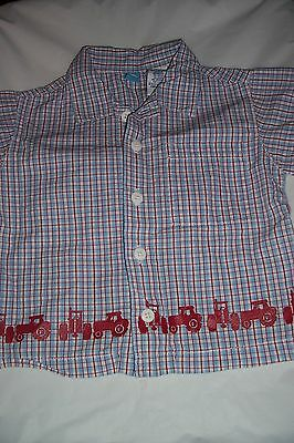Gymboree...Boys...6-12 Months...S/sleeve...Spring//summer shirt...Nice