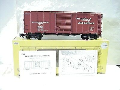 New AristoCraft G Scale Illinois Central Mainline ofMid-America 30532 BoxCar