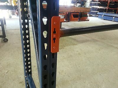 pallet rack shelving racking round pipe teardrop warehouse NEW
