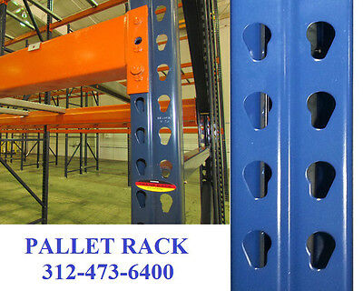 pallet rack racking teardrop warehouse industrial shelving estanteri NEW Chicago