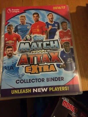 Match Attax Extra 2016/17 Full Set Of 167 Cards In A Binder Mint