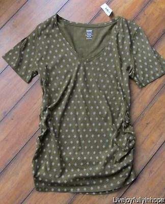 OLD NAVY MATERNITY ~ New! NWT L or XL ~ Soft Modal (tm) Fitted Tee Shirt