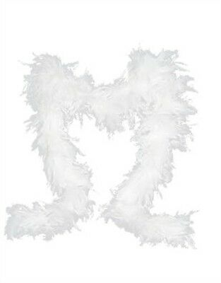 """Deluxe Large White 72"""" Costume Accessory Feather Boa"""
