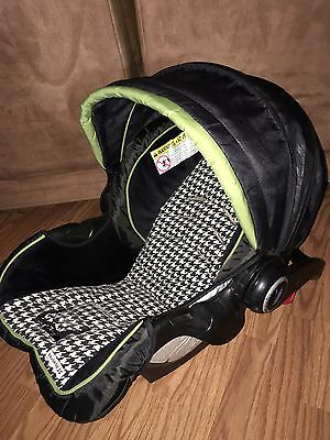 Graco Snugride 35 Infant Car Seat Replacement Cover & Canopy Black