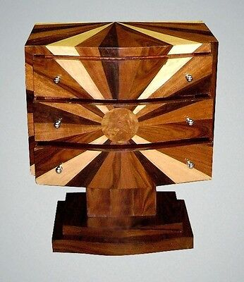SUPERB quality Art Deco style Commode Chest