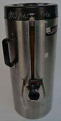 Fetco Luxus TPD-15 1.5 Gallon Hot/Cold Beverage Dispenser Stainless