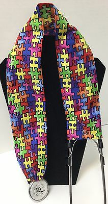 Autism Puzzle  MD RN EMT LPN Stethoscope Cover  Buy 3 GET FREE SHIPPING