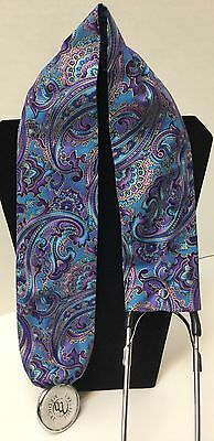 Turquoise Purple Paisley MD RN EMT LPN Stethoscope Cover Buy3 GET FREE SHIPPING