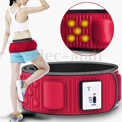Lose Weight Electric Tummy Abdominal Slimming Belly Burner Fitness Massage Belt
